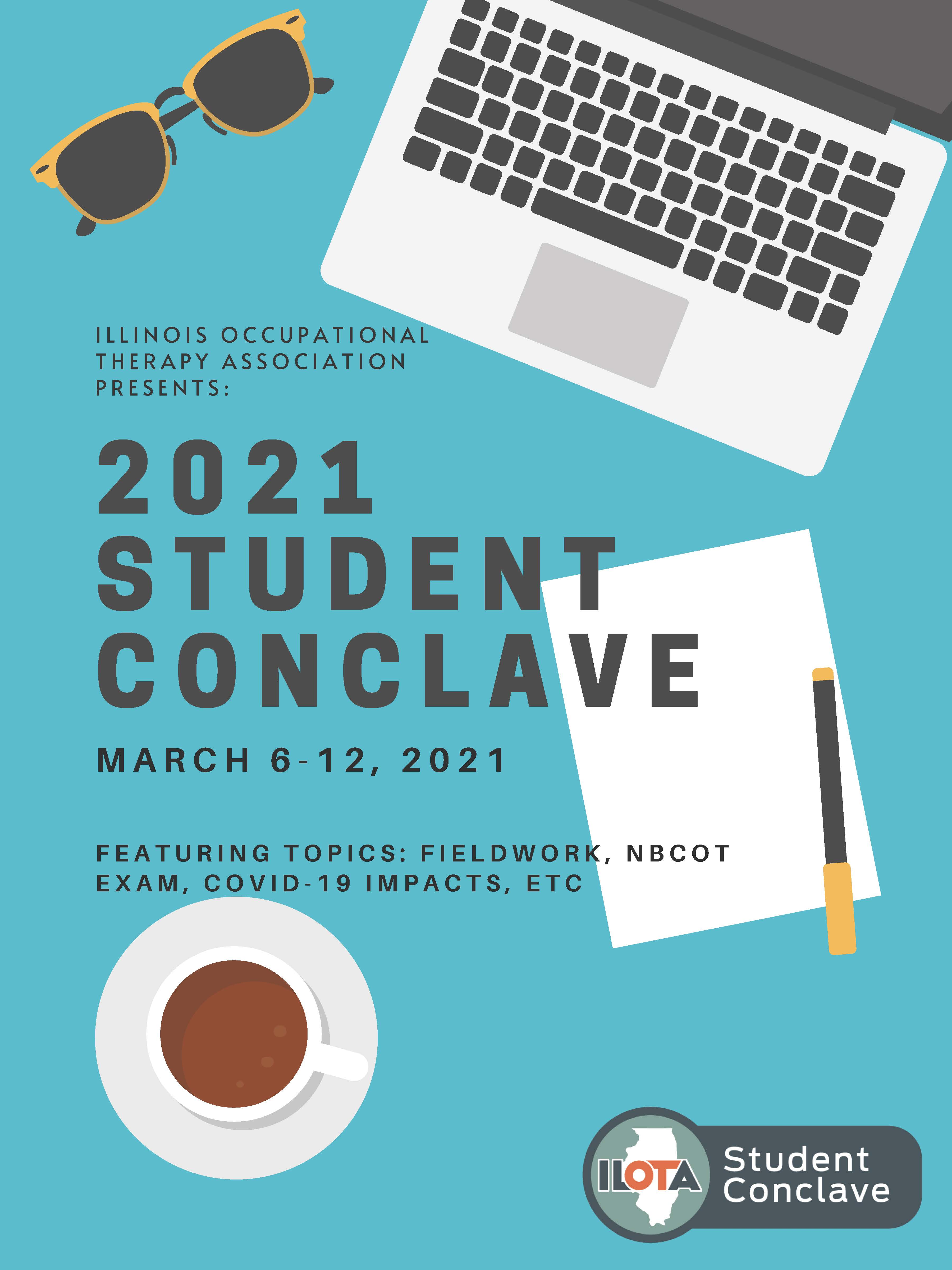 Flyer for the Student Conclave